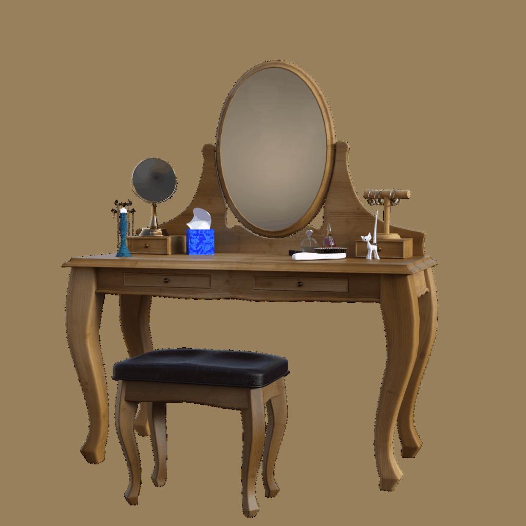 מראה וכסא
